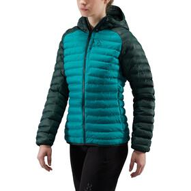 Haglöfs Essens Mimic Hood Jacket Women alpine green/mineral